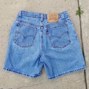 Vintage Levi's 951 Orange Tab Women's Jean Shorts